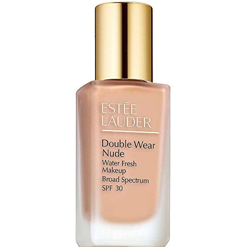 主要なオーラル陪審エスティローダー Double Wear Nude Water Fresh Makeup SPF 30 - # 1C2 Petal 30ml/1oz並行輸入品