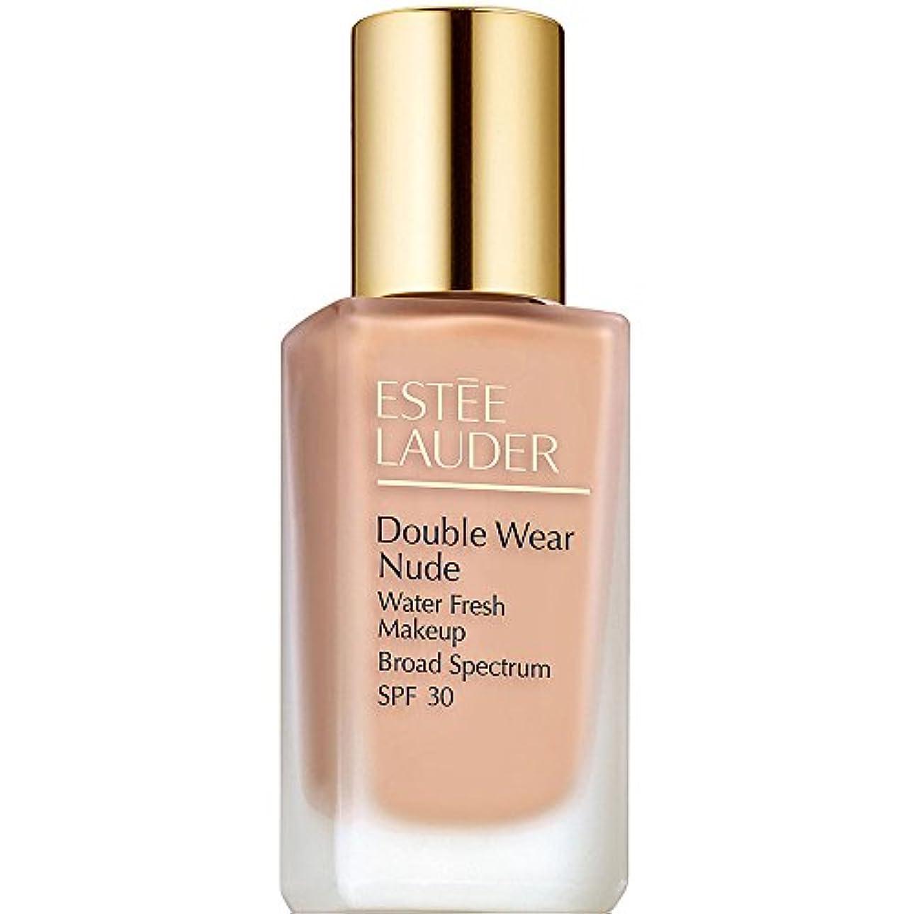定刻ウガンダ余分なエスティローダー Double Wear Nude Water Fresh Makeup SPF 30 - # 1C2 Petal 30ml/1oz並行輸入品