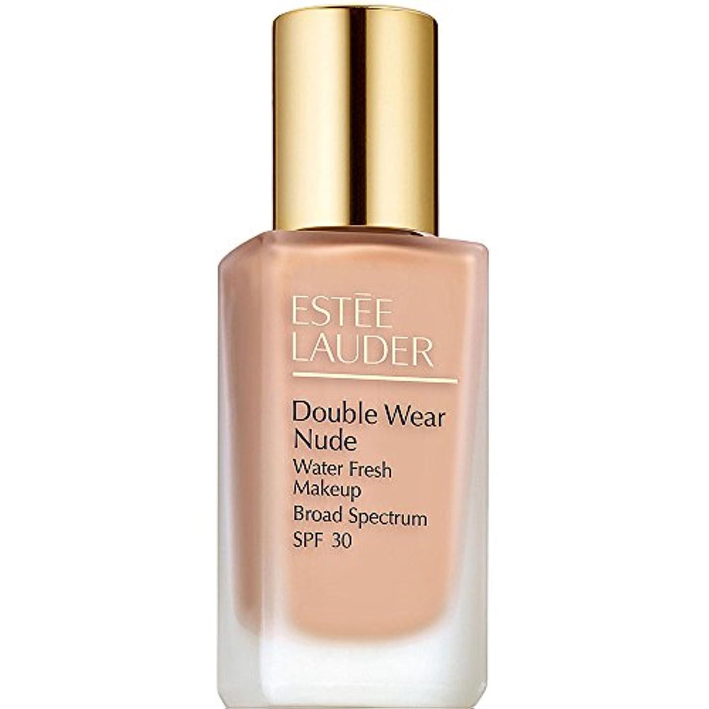 花体船上エスティローダー Double Wear Nude Water Fresh Makeup SPF 30 - # 1C2 Petal 30ml/1oz並行輸入品