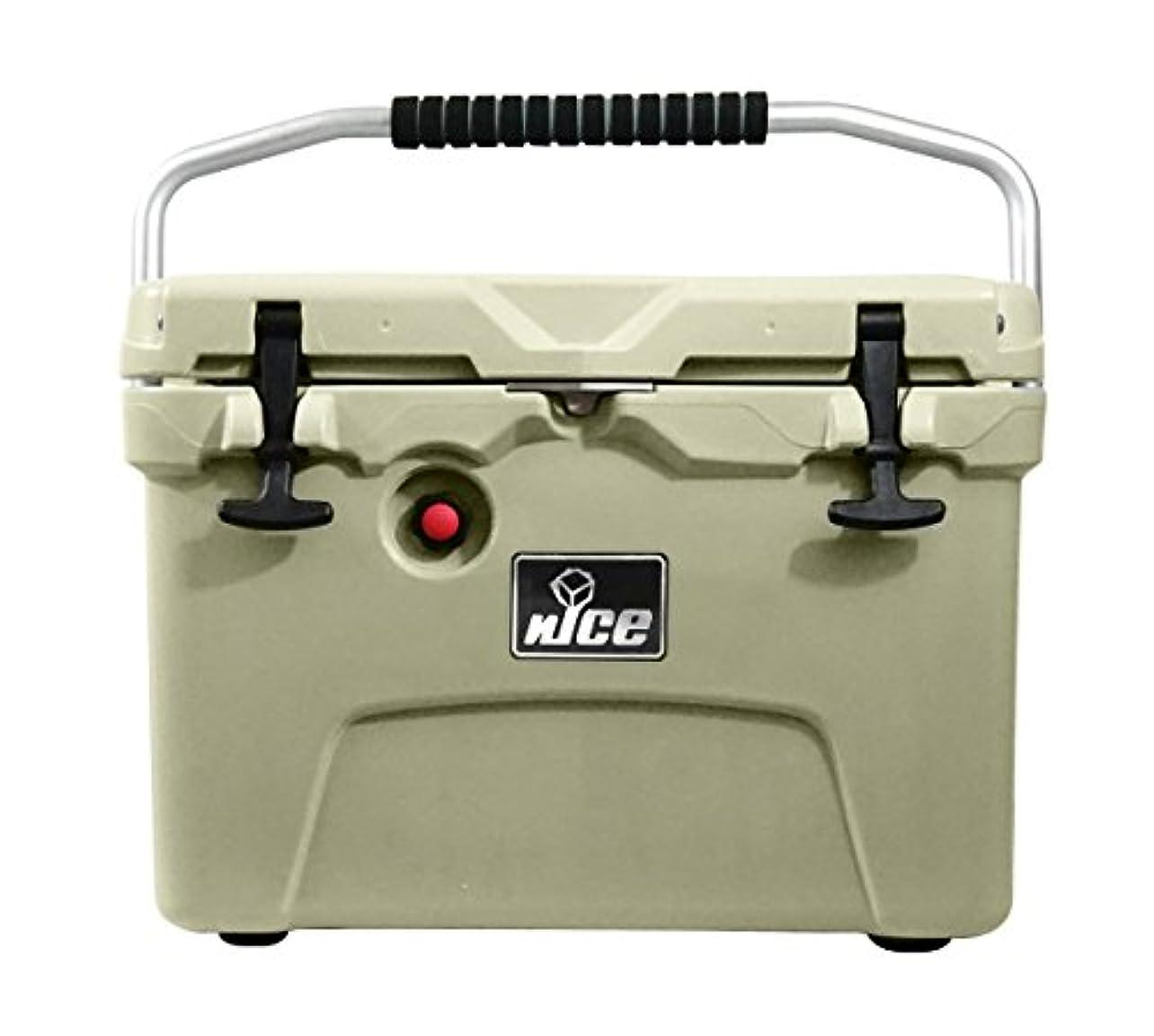 ポーズ束分泌するnICE CKR-517301 20 Quart Premium Cooler - Beige
