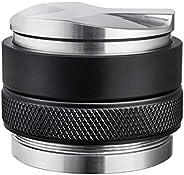 58mm Coffee Distributor & Tamper, MATOW Dual Head Coffee Leveler Fits for Portafilter, Increased Adjustabl
