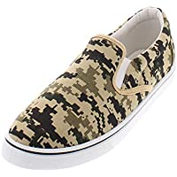 Gold Toe Doug Mens Slip On Shoes,Casual Skate Canvas Sneakers,Slipon Men's Boat Deck Shoe