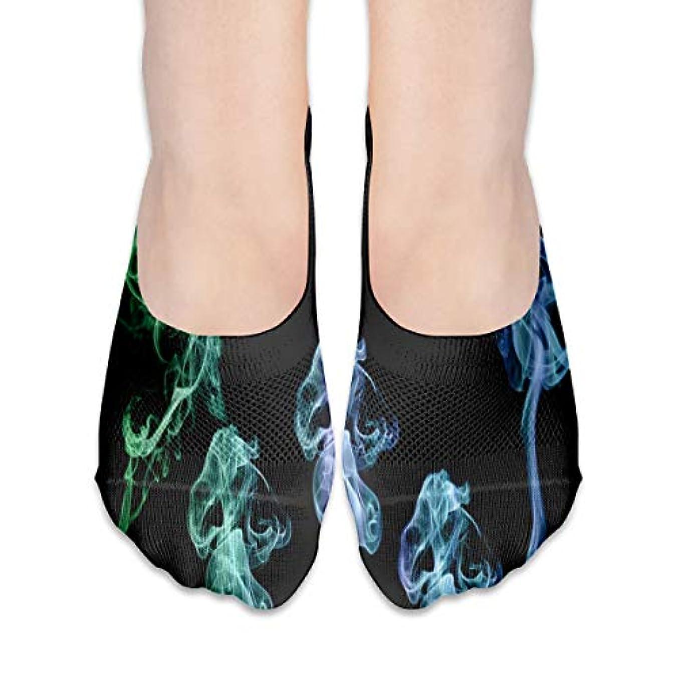 起業家保守的滝女性のトリッピースモークローカットコットンボート隠し目に見えない靴下