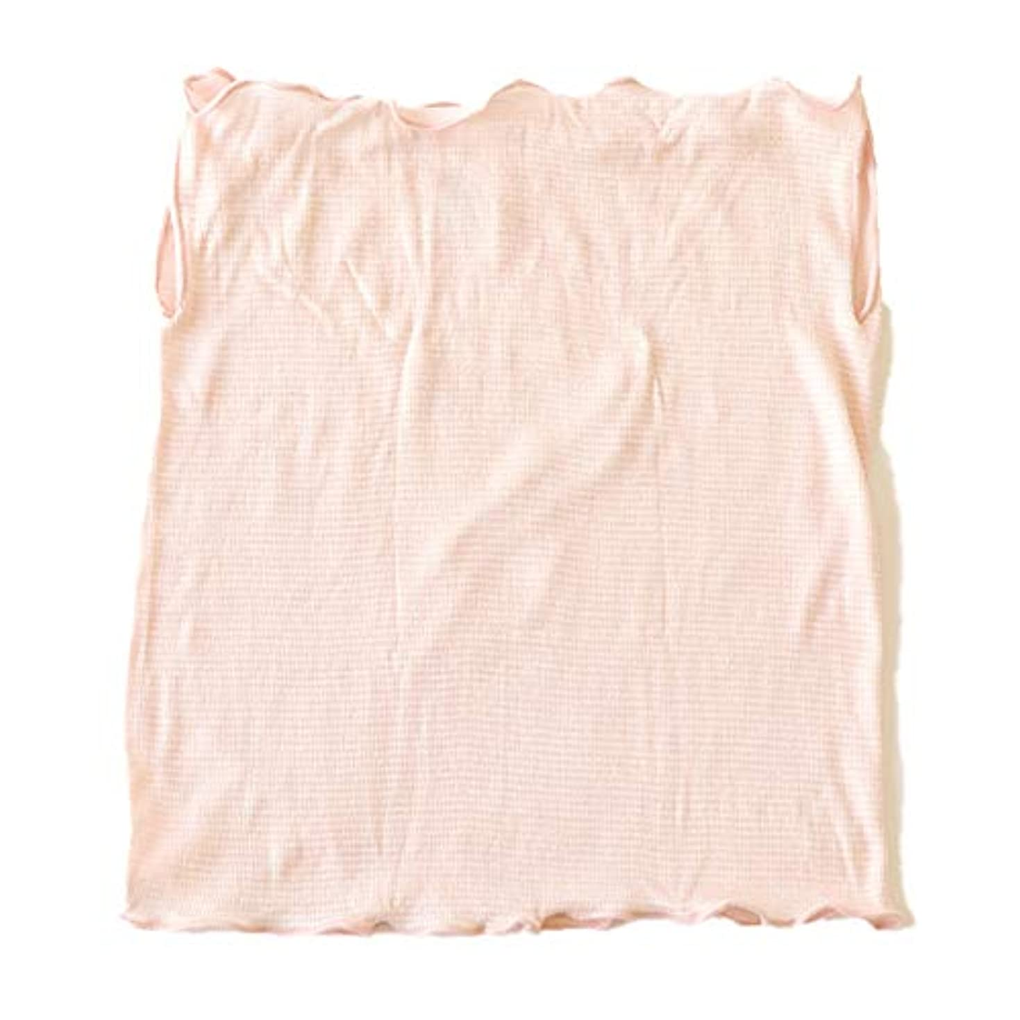 悪化させる解放するメロドラマティック絹屋 極薄2mm シルクフェイスマスク FREE(長さ:29cm 幅:25cm) 桜色