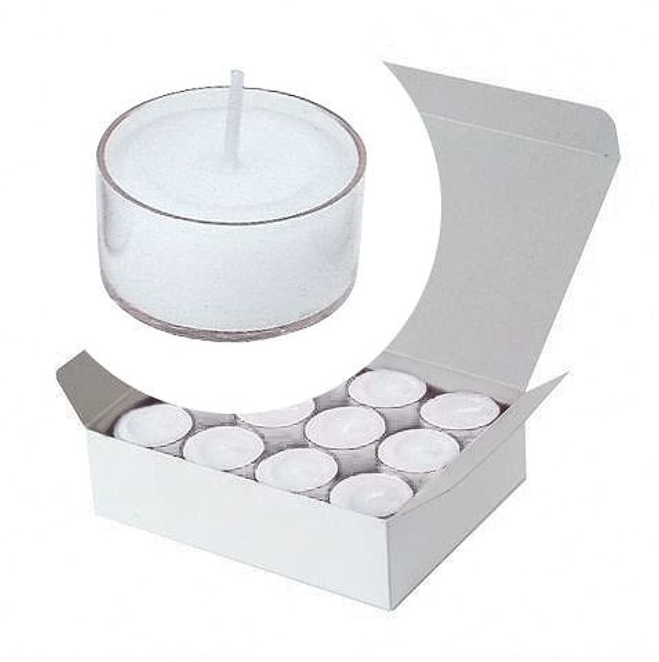 妖精安定器具カメヤマキャンドル(kameyama candle) クリアカップティーライト24個入り 「 クリア 」