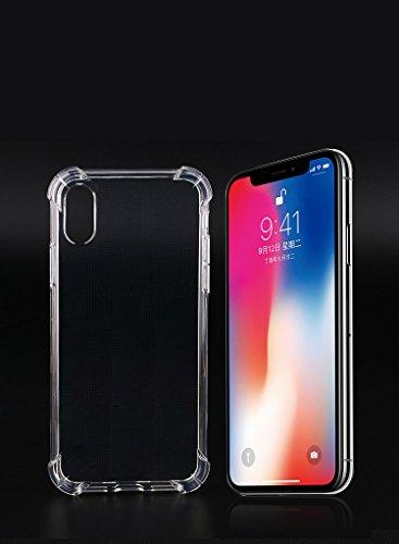 RoiCiel iPhoneX用ケース透明 クリア ソフトカ...