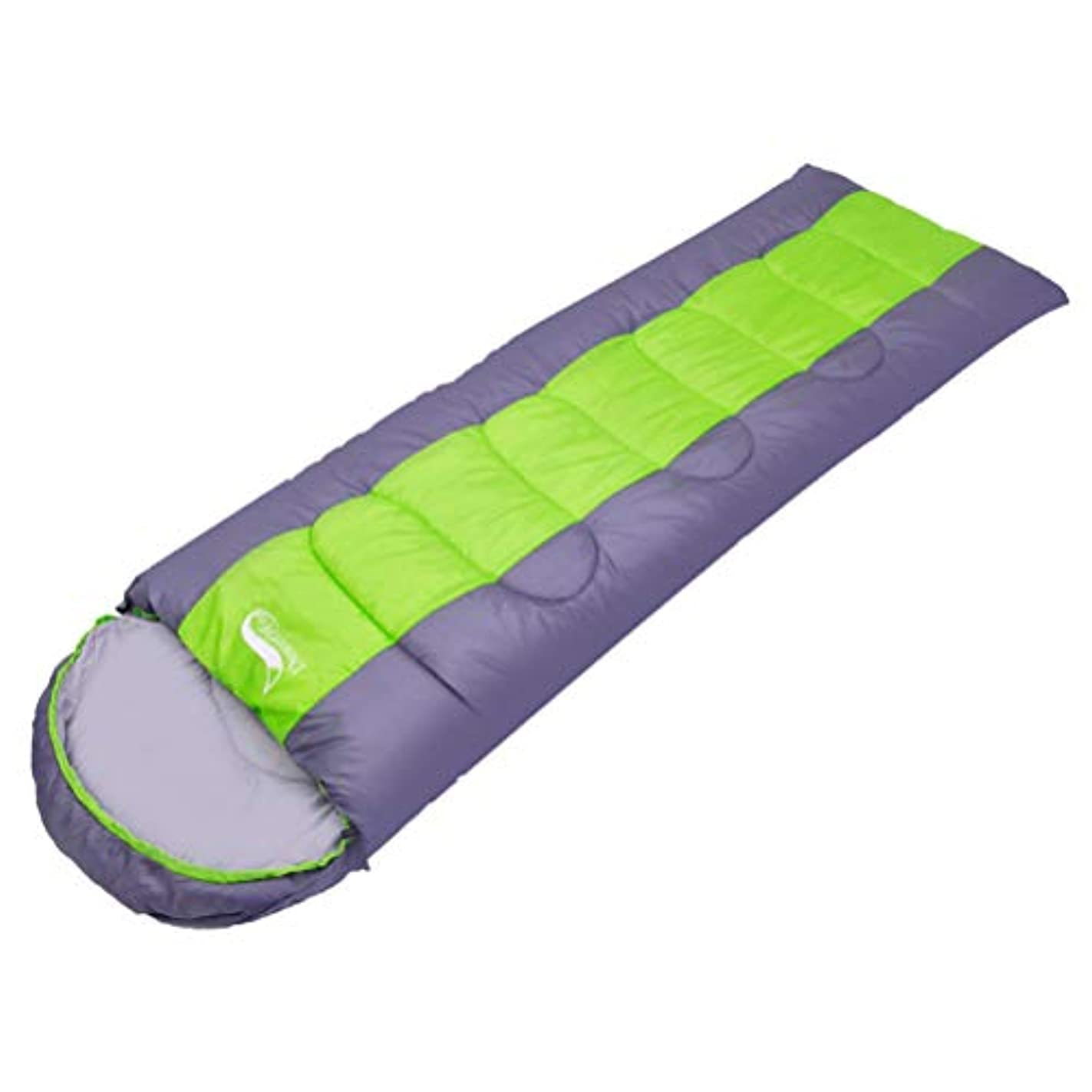 彼らエロチック潜在的な寝袋 封筒型 軽量 防水 コンパクト アウトドア 登山 車中泊 丸洗い オールシーズン 夏用 冬用 収納袋付き