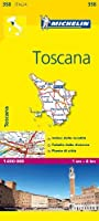 Michelin Toscana (Michelin Maps)