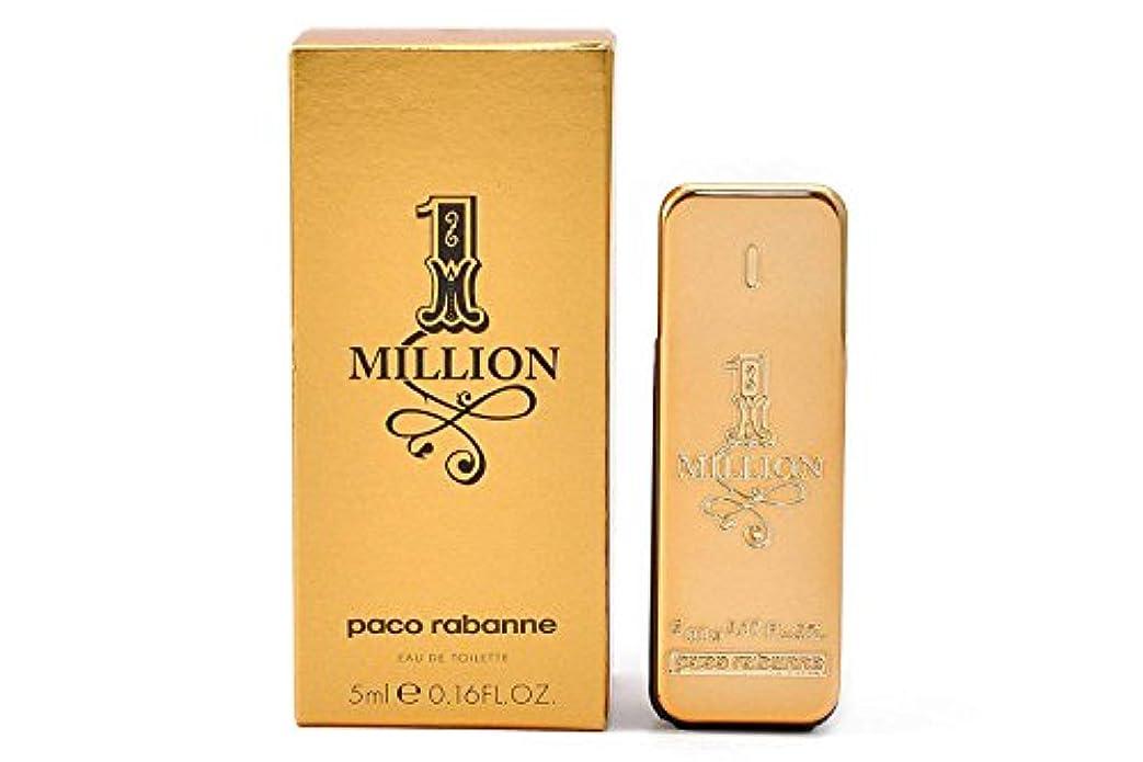 リングバック太平洋諸島いつもパコラバンヌ ワンミリオン EDT 5ml ミニ香水(並行輸入品)