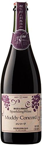 蒼龍葡萄酒 スパークリング マディコンコード [ 赤ワイン 中口 日本 750ml ]