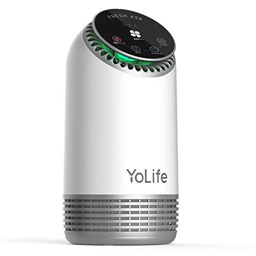 空気清浄機 加湿 Yolife 小型 3段階防塵 複合型フィ...