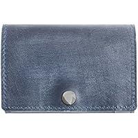 Dom Teporna ブライドルレザー 三つ折り財布 小さい 薄型 コンパクト 本革 ウォレット サイフ メンズ レディース 全6色