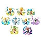 ドラゴンボール超 ワールドコレクタブルフィギュア -BURST- 全9種 セット