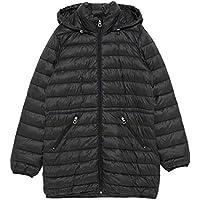 Zara Women Foldaway Lightweight Puffer Coat 3427/906 Black