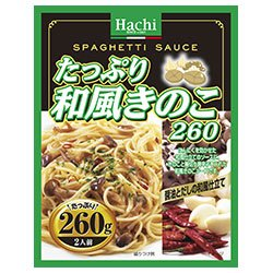 ハチ食品 たっぷり和風きのこ260 260g×24個入×(2ケース)