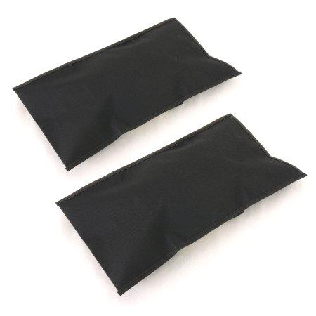 組み立て式サッカーゴール専用 サンドバッグ2個セット クイックプレイ ゴール リバウンダー ESFG-001等対応 重り 重し 土嚢袋