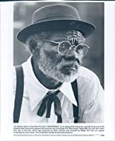 ビンテージ写真プレス 写真 俳優 ジョーセネカ クロスロード デルタ ブルースマン フィルム セレブリティ 8x10
