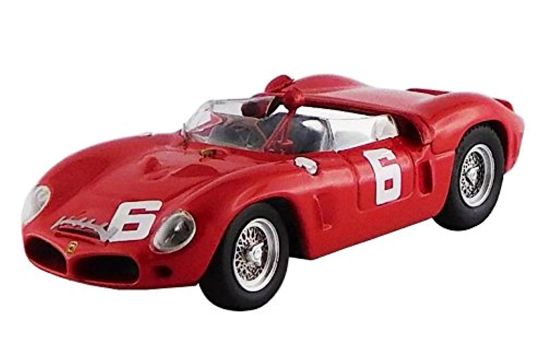 アートモデル 1/43 フェラーリ 246 DINO SP ガーズトロフィー ブランズハッチ 1962#6 マイク?パークス シャーシNo.0790 優勝車 完成品