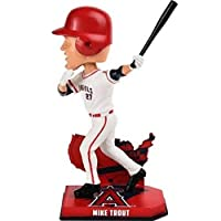 MLB Los Angeles Angels Mike TroutユニセックスTrout M # 27Nation Bobble、1サイズ