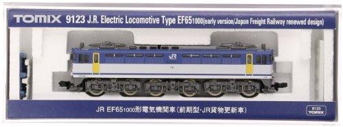 TOMIX Nゲージ 9123 EF65-1000 (前期型・JR貨物更新車)