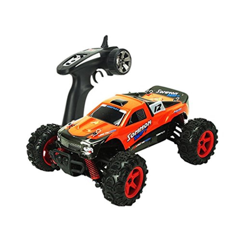 教育おもちゃ、baomabao bg1510b 2.4 Gリモートコントロール電動ドリフトカーおもちゃオレンジ