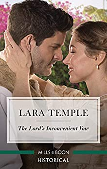 The Lord's Inconvenient Vow (The Sinful Sinclairs) by [Temple, Lara]