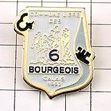 限定 レア ピンバッジ 彫刻カレーの市民ロダン作ブルジョワ紋章 ピンズ フランス
