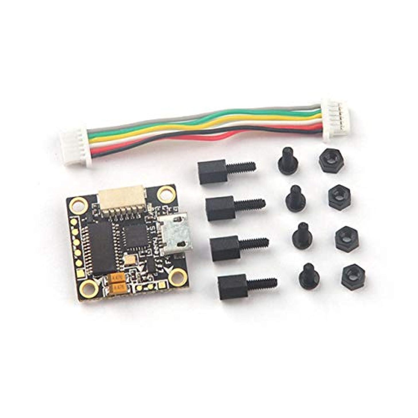 数学血色の良いランデブーDeeploveUU マイクロFPVランニングドローン用OSD昇降圧コンバータ付きフライトコントローラ