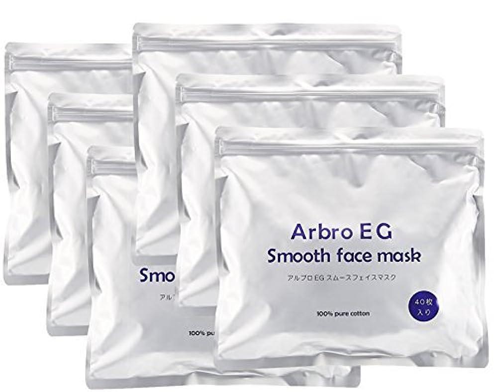 意義北極圏電気技師アルブロEGスムースフェイスマスク240枚入(40枚入り×6袋)