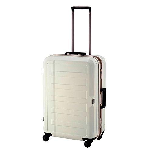 レジェンドウォーカー シボ加工スーツケース【60cm】 5088-60(Legend Walker)アイボリー