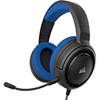 Corsair ゲーミングヘッドセット HS35 STEREO Stereo Gaming Headset -Blue- PC PS4 Switch SP865 CA-9011196-AP