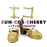 【サイズ選択可】コスプレ靴 ブーツ K-2607 ラブライブ! School idol project 双子座の女神 UR μ's 東條希 女性23.5CM