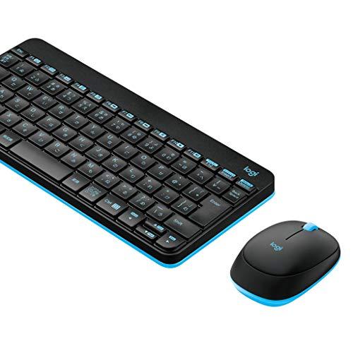 Logicool ワイヤレスコンボ ワイヤレスキーボード+マウスセット MK245 NANO メンブレン 日本語83キー MK245nBK