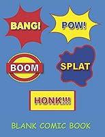 Blank Comic Book: Blank Comic Book Draw your Own Comics  Comic Book Writing