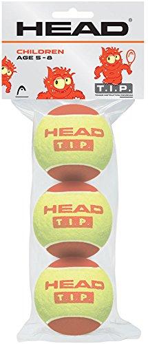 テニス 子供向けボール HEAD T.I.P レッド 3球入り 578113