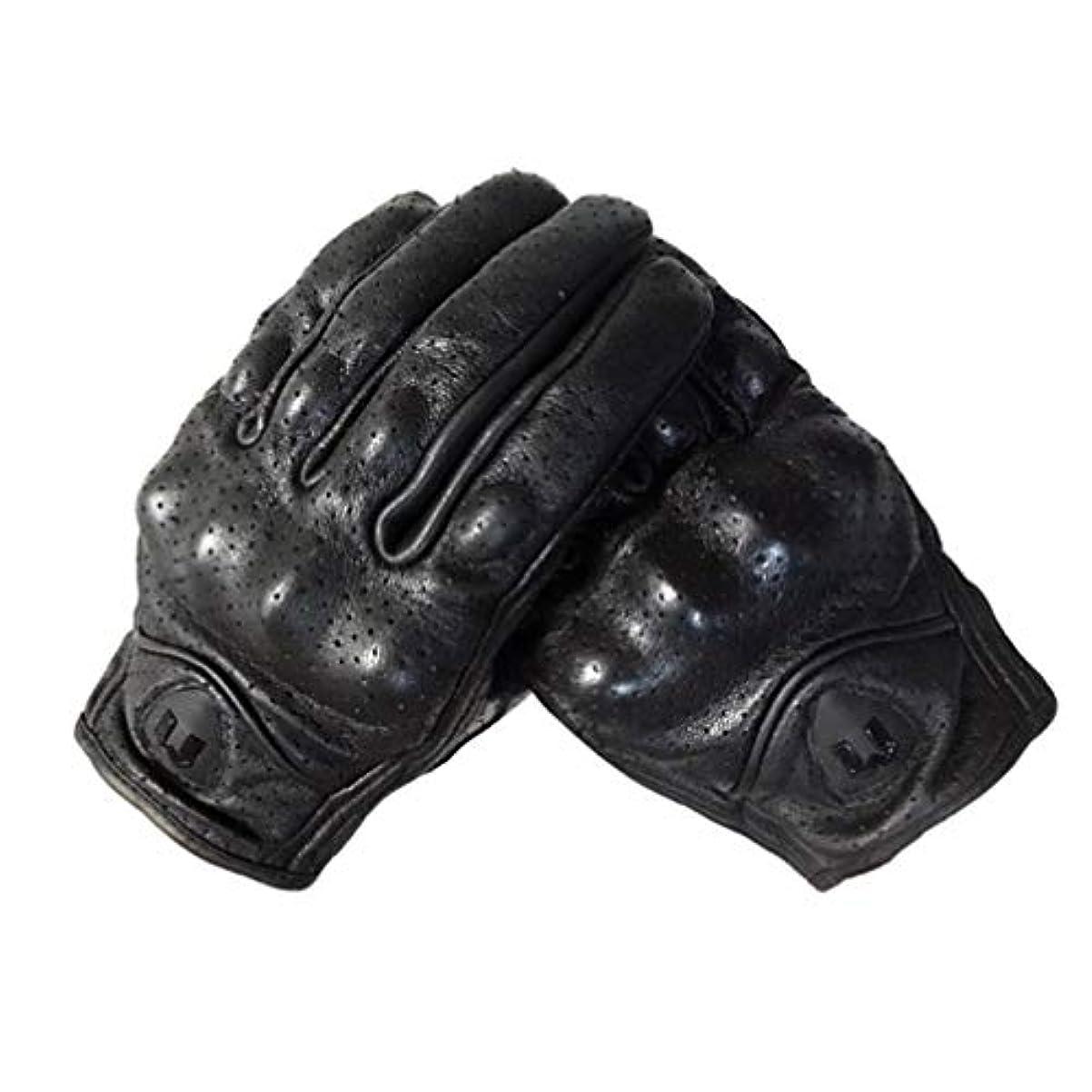 憎しみうなる毛細血管LIOOBO 冬革手袋フルフィンガーサイクリング手袋オートバイの手袋運転手袋タッチスクリーン手袋男性用女性