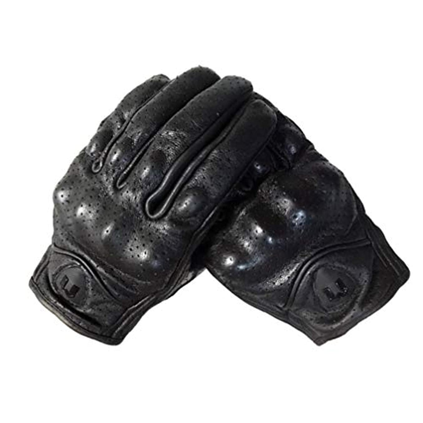 局スポーツマン寂しいLIOOBO 冬革手袋フルフィンガーサイクリング手袋オートバイの手袋運転手袋タッチスクリーン手袋男性用女性