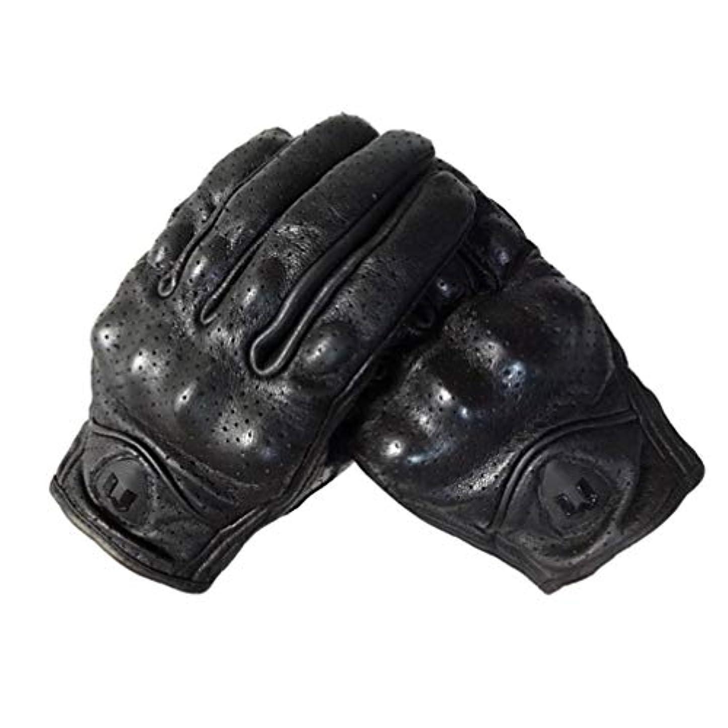 繊維容赦ない重荷LIOOBO 冬革手袋フルフィンガーサイクリング手袋オートバイの手袋運転手袋タッチスクリーン手袋男性用女性