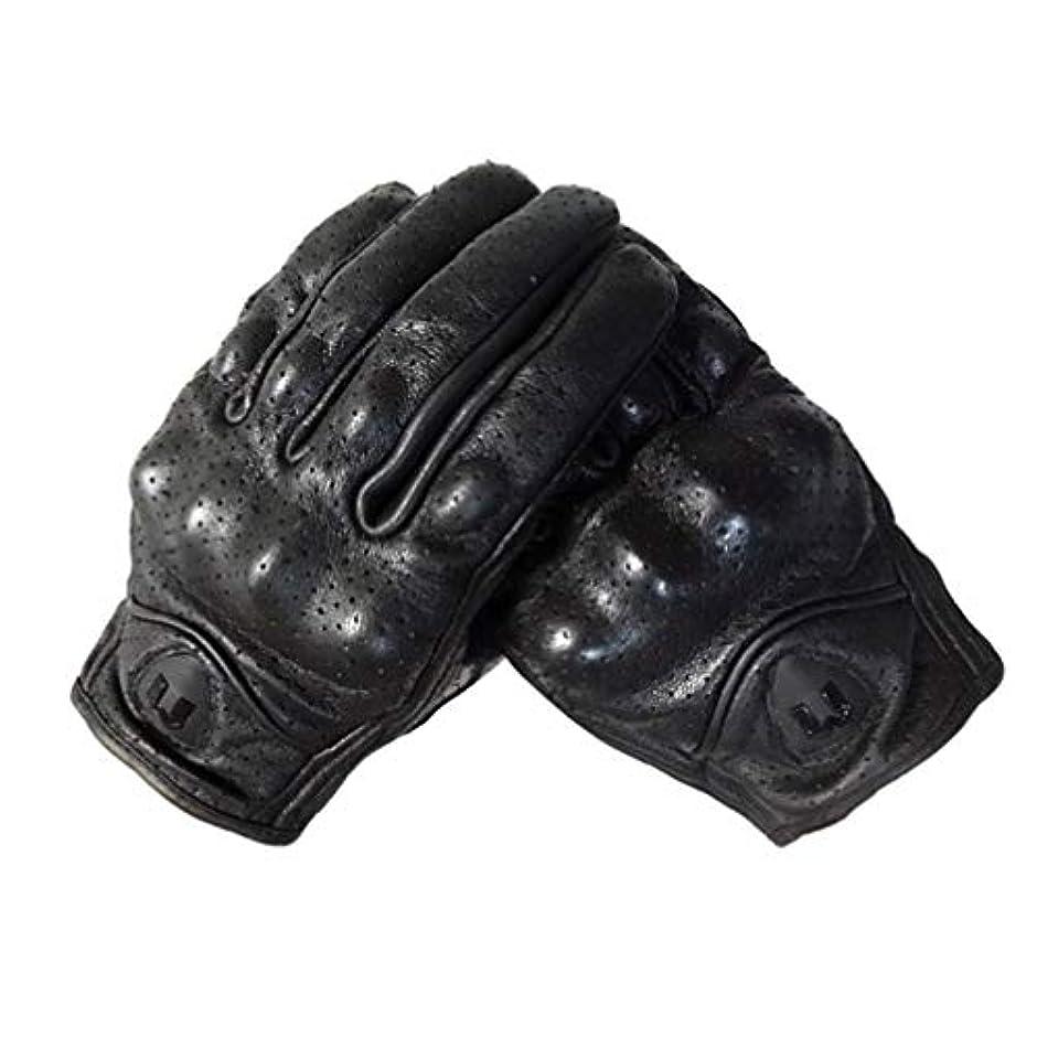 石化する軽量劇場LIOOBO 冬革手袋フルフィンガーサイクリング手袋オートバイの手袋運転手袋タッチスクリーン手袋男性用女性