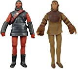 Planet of The apes - Mego Action Figure: Series 1 (Set of 2)