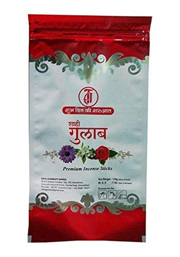 容疑者ビジョン報奨金TIRTH Sahi Gulab Premium Incense Stick/Agarbatti (170 GM Pack) Pack of 2