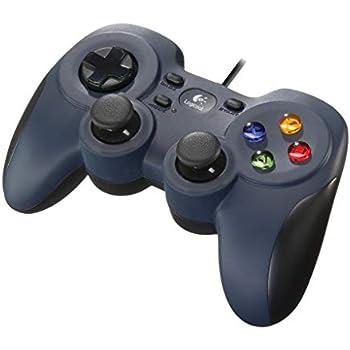 Logicool G ゲームパッド F310r ダークブルー PC ゲームコントローラー  FF14推奨 Xinput F310 国内正規品 2年間メーカー保証
