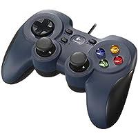 Logicool G ゲームパッド F310r ダークブルー PC ゲームコントローラー  FF14…