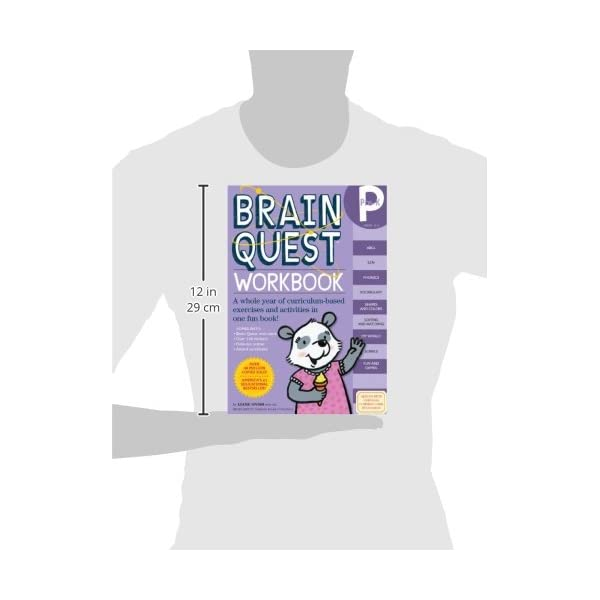 Brain Quest Workbook Pre-Kの紹介画像5