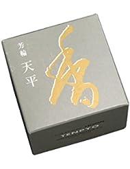 松栄堂のお香 芳輪天平 渦巻型10枚入 うてな角型付 #210521
