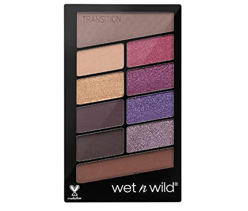 不公平娘一時解雇するWet N Wild Color Icon Eyeshadow 10 Pan Palette (V.I.Purple) 海外直送 [並行輸入品]