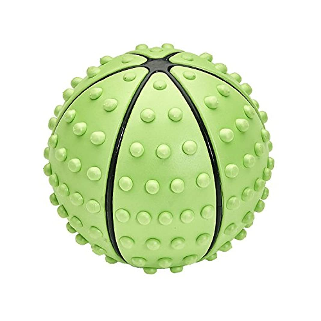 ランプ証明する九時四十五分IRONMAN CLUB(鉄人倶楽部) 指圧 ストレッチ ボール KW-900 リフレッシュ トレーニング こりほぐし