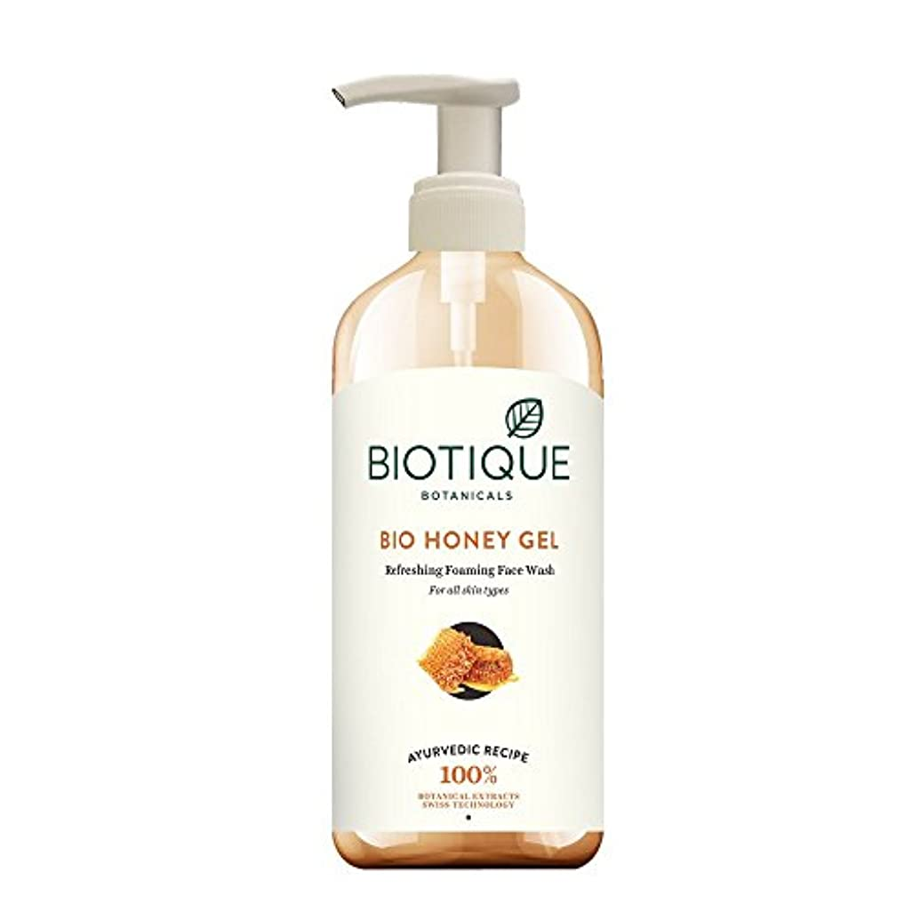 症候群壮大な正しくBiotique Honey Gel Face Wash