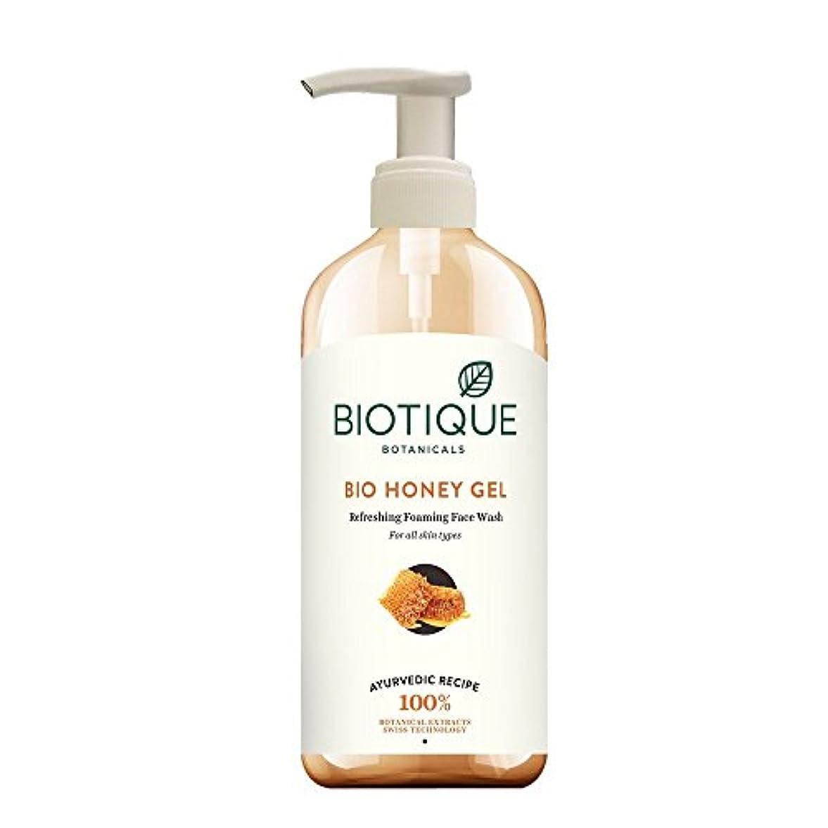 クライマックスマトンメッセンジャーBiotique Honey Gel Face Wash