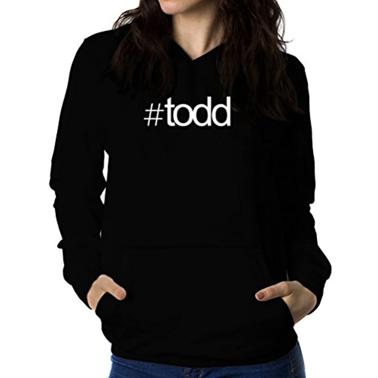 気難しいアトミックあなたのものHashtag Todd 女性 フーディー